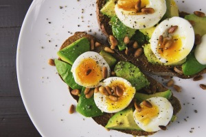 appetizer  avocado  bread  breakfast  close-up  cuisine  dairy product  delicious  diet  dish  eating healthy  eggs  epicure  focus  food  food photography  food plating  healthy  healthy diet  healthy food  herb  lunch  meal  mouth-watering  nutrition  plate  salad  slice  snack  tasty  toast  toasted  vegetable
